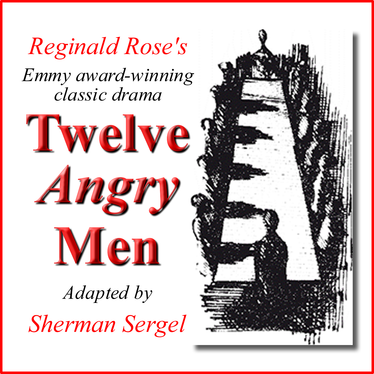 an analysis of 12 angry men by reginald rose Reginald rose (december 10, 1920 – april 19, 2002) was an american film and television writer most widely known for his work in the early years of televi.